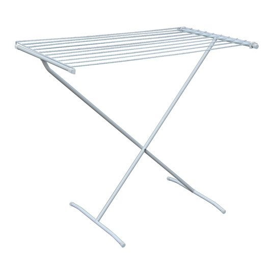 Etendoir table blanc leroy merlin for Table extensible leroy merlin