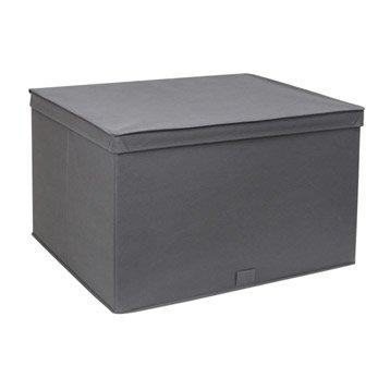 Panier malle boite et rangement sous vide leroy merlin - Boite de rangement plastique sous lit ...