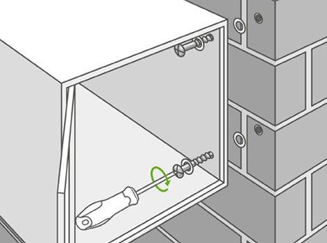 comment int grer une bo te aux lettres dans une cl ture. Black Bedroom Furniture Sets. Home Design Ideas