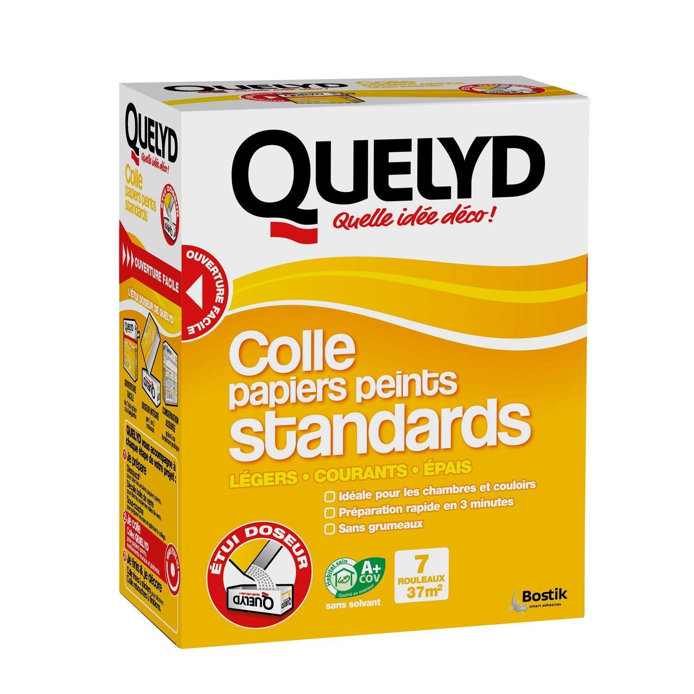 Colle papier peint standard QUELYD, 0.25 kg | Leroy Merlin