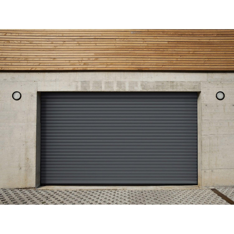 Porte De Garage à Enroulement Motorisée ARTENS Essentiel H X L - Porte de garage à enroulement