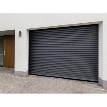 Porte de garage enroulement porte de garage motoris e for Porte de garage a enroulement electrique sur mesure