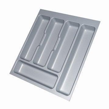 Accessoires int rieurs de tiroir poubelle tabouret et accessoires de cuisine leroy merlin - Range couverts 30 cm ...