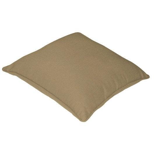 housse de coussin cl a gris dor n 6 40 x 40 cm leroy. Black Bedroom Furniture Sets. Home Design Ideas