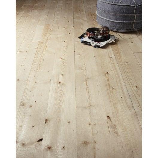 plancher brut en sapin long 205cm x larg x ep. Black Bedroom Furniture Sets. Home Design Ideas
