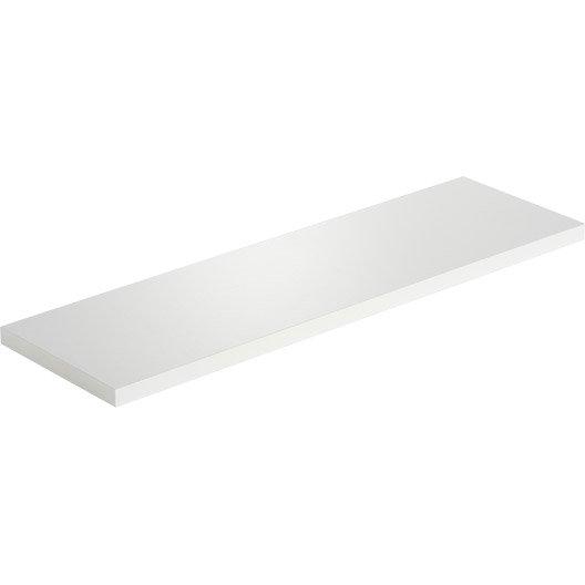 etag re murale blanc blanc n 0 spaceo l 60 x p 18 cm ep. Black Bedroom Furniture Sets. Home Design Ideas