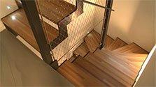 Escalier puits de lumière