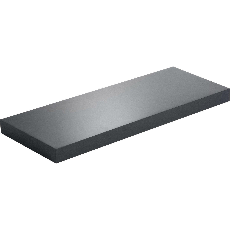 etag re murale noir noir n 0 spaceo x cm mm leroy merlin. Black Bedroom Furniture Sets. Home Design Ideas
