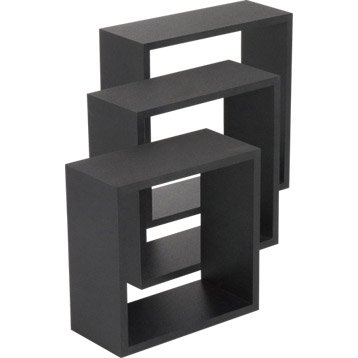 etagere murale tag re murale cube tag re angle. Black Bedroom Furniture Sets. Home Design Ideas