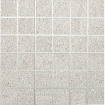 Mosaïque sol et mur Block gris