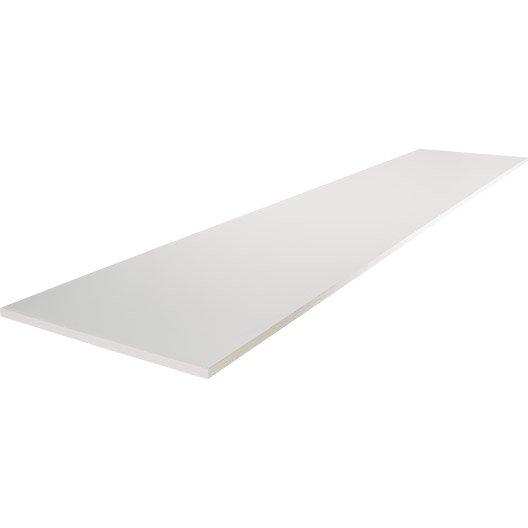 Tablette papier blanc x cm x mm leroy - Tablette verre leroy merlin ...