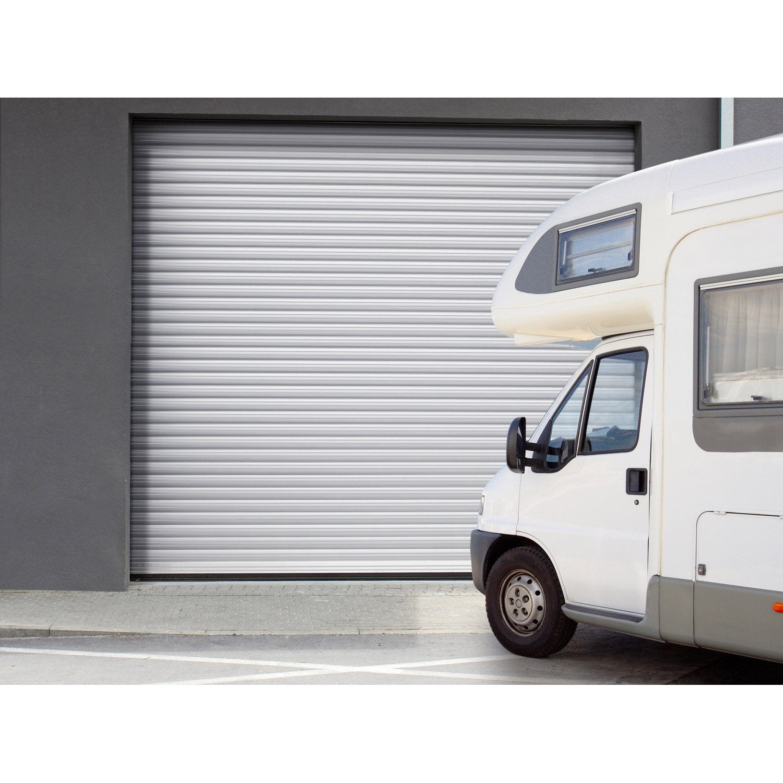 Porte De Garage à Enroulement Motorisée ARTENS Essentiel H X L - Porte de garage a enroulement
