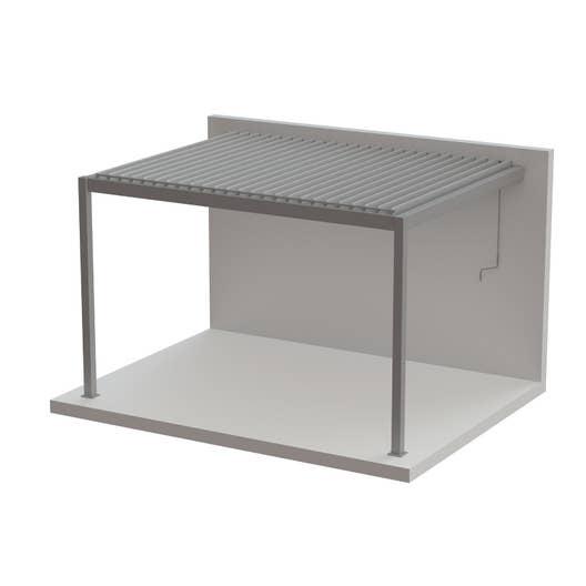 pergola adoss e cadix aluminium gris anthracite 12 m. Black Bedroom Furniture Sets. Home Design Ideas