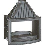 Foyer à bois façade droite INVICTA 6288-44 15 kW