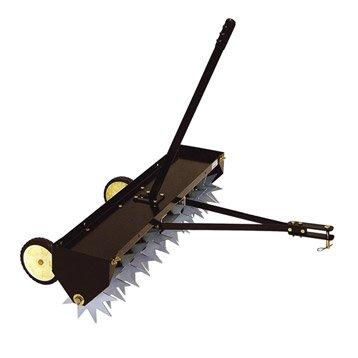Aérateur à dents pour autoportée MTD acier peint en époxy