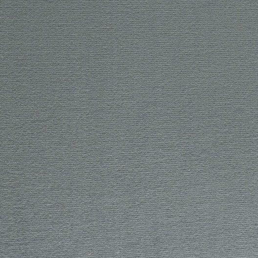 Moquette velours diapason grise 4 m leroy merlin for Moquette grise