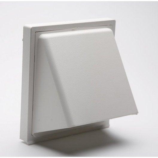 grille d 39 a ration encastrer abs naturel 15x15cm leroy merlin. Black Bedroom Furniture Sets. Home Design Ideas