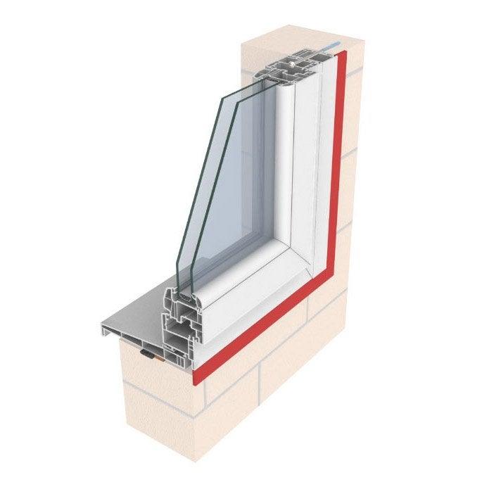 Plat pour fenêtre et porte fenêtre pvc couleur blanc nouveau 20mm 50mm