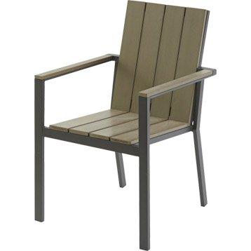 Chaise et fauteuil de jardin salon de jardin table et chaise leroy merlin - Table et chaise de jardin castorama ...