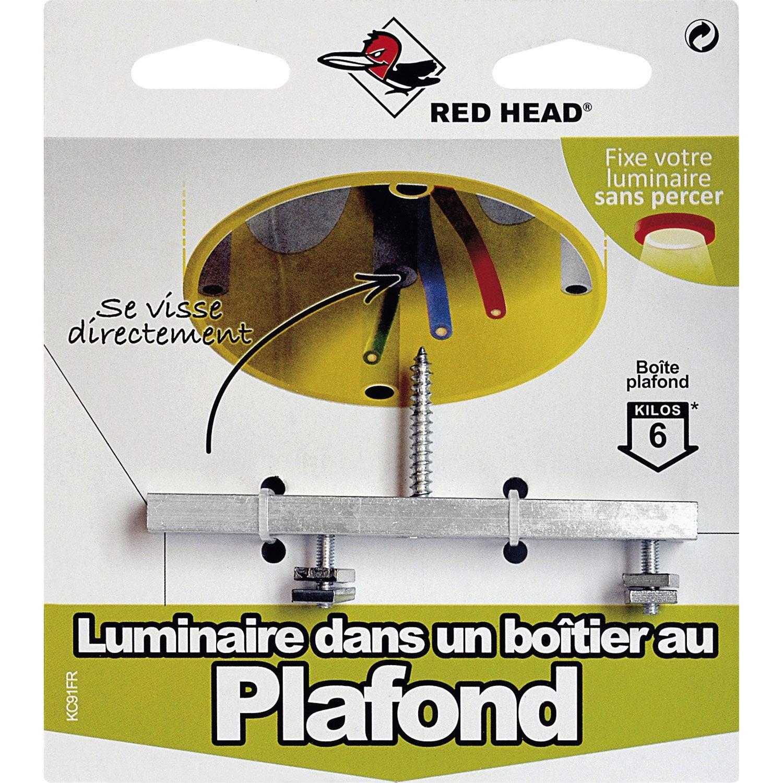 kit chevilles visser luminaire red head leroy merlin. Black Bedroom Furniture Sets. Home Design Ideas