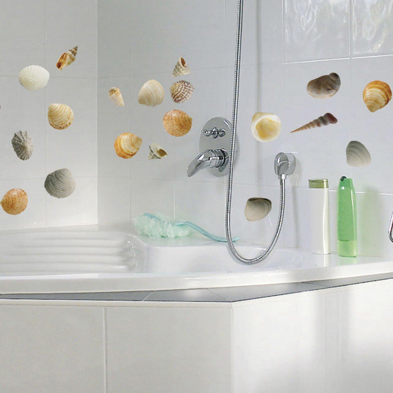 Salle De Bain Stickers ~ d corer le carrelage de la salle de bains avec les stickers