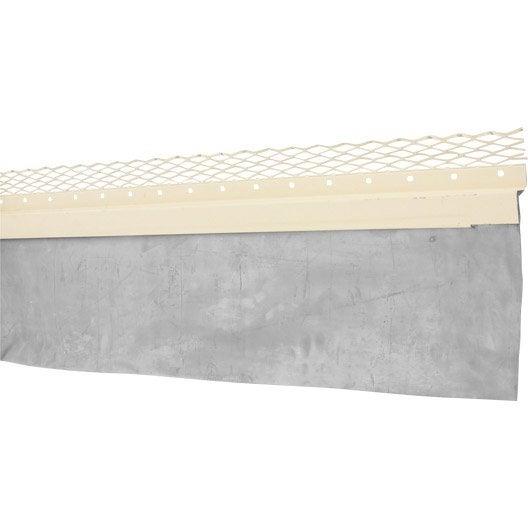 solin grillage pr laqu bavette scover plus gris mm x l 2 m leroy merlin. Black Bedroom Furniture Sets. Home Design Ideas