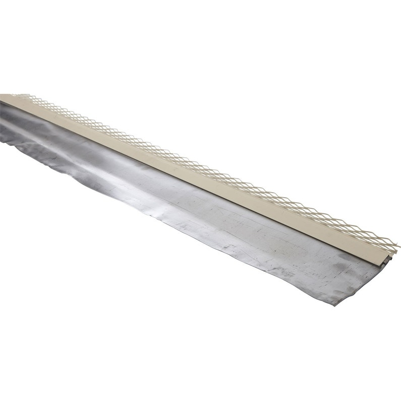Solin Grillage Prélaqué à Bavette Scover Plus Gris L240 Mm X L2 M