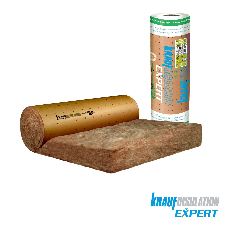laine de verre kraft knauf insulation 3 x 1 2 m ep 200 mm 035 r 5 7 leroy merlin