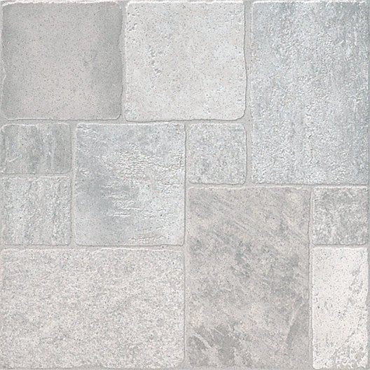 Carrelage sol gris effet pierre rolling x cm for Carrelage effet pierre