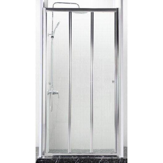 Amazing porte de douche coulissante cm transparent dado - Porte de douche ikea ...
