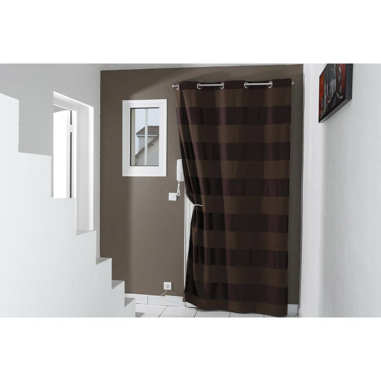 Barre à rideau pour porte Ib+ kit tringle de porte 100 cm pour ...