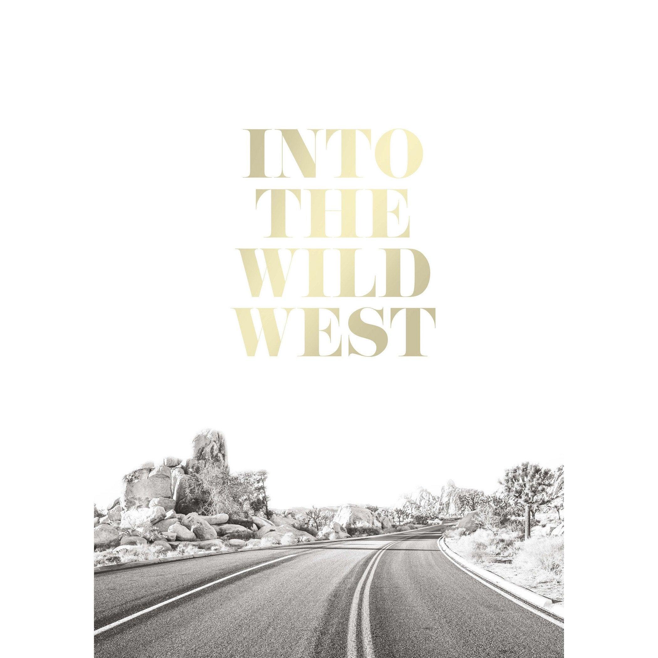 Affiche Wild west l.50 x H.70 cm