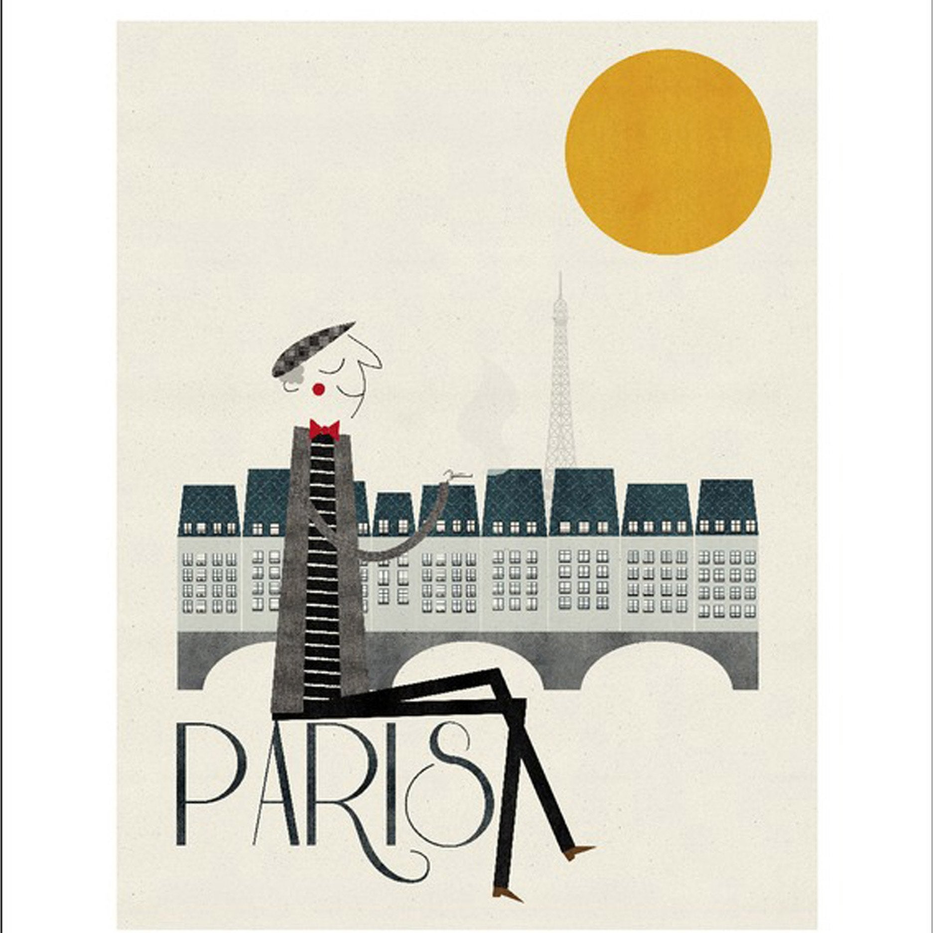 Affiche Paris l.40 x H.50 cm