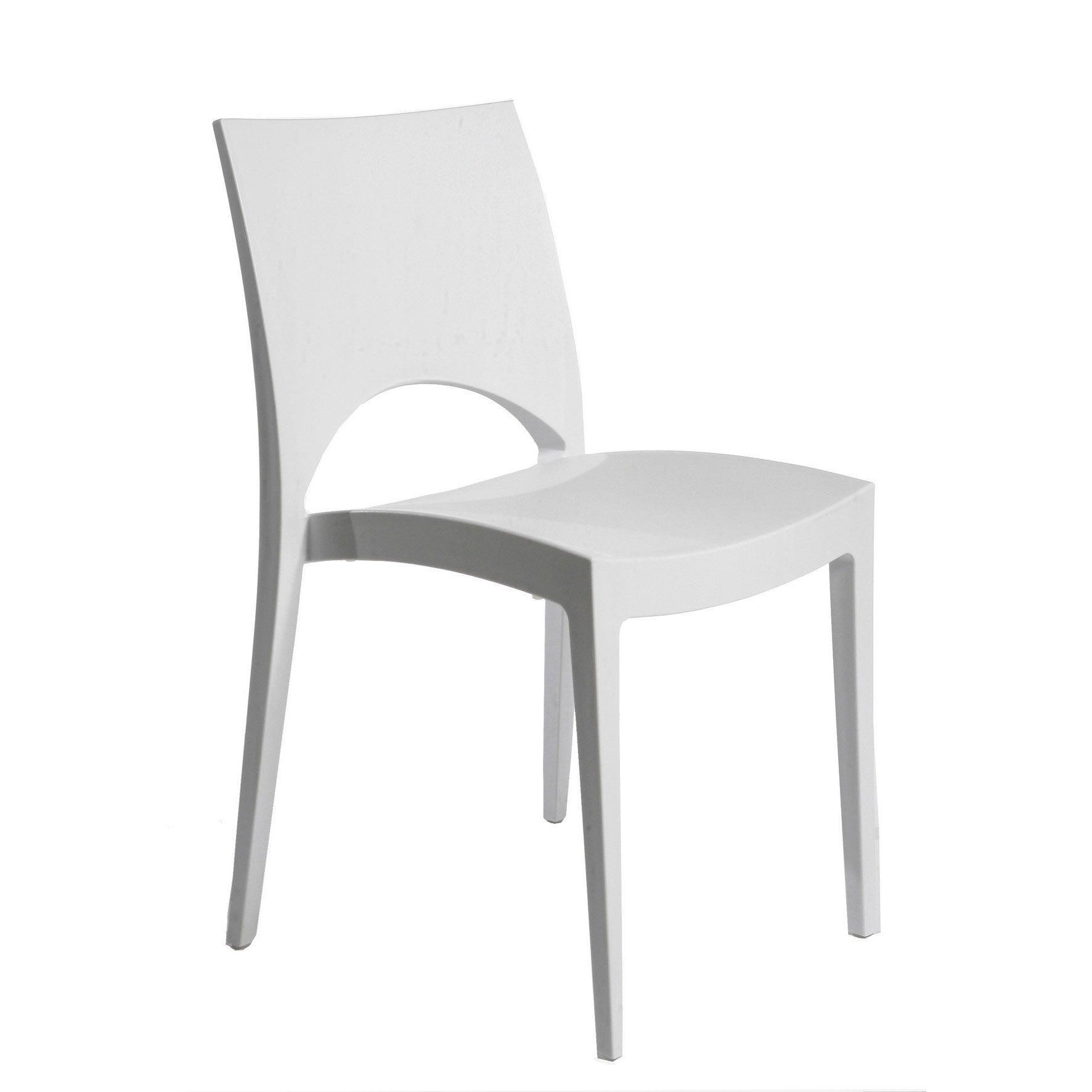 Chaise de jardin en plastique au meilleur prix | Leroy Merlin