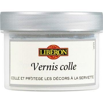Vernis colle, mat, LIBERON, Vernis colle 0,5l libéron, incolore 0.25 l