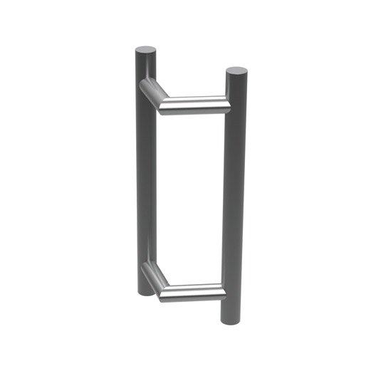 Poign e de porte coulissante en inox pour tous types de for Type de porte
