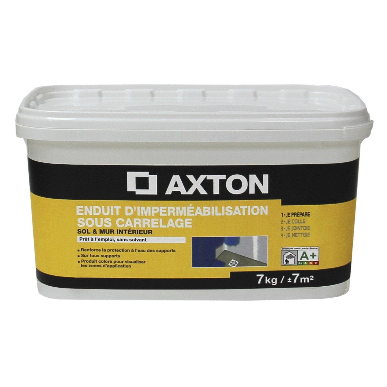 enduit d'imperméabilisation axton, 7 kg | leroy merlin - Etancheite Carrelage Salle De Bain
