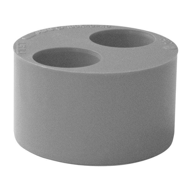 Tampon De Réduction Simple Pvc Diam1005040 Mm First Plast
