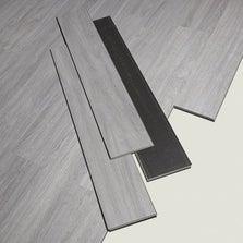 Lame PVC clipsable gris effet bois Camden ARTENS