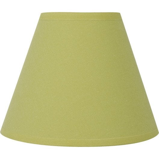 abat jour sweet 14 cm coton vert pistache n 5 inspire. Black Bedroom Furniture Sets. Home Design Ideas