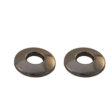 Lot de 2 rosaces basses 15 x 21 mm
