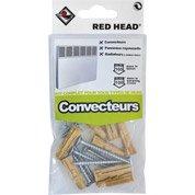 kit chevilles à expansion convecteur RED HEAD, Diam.8