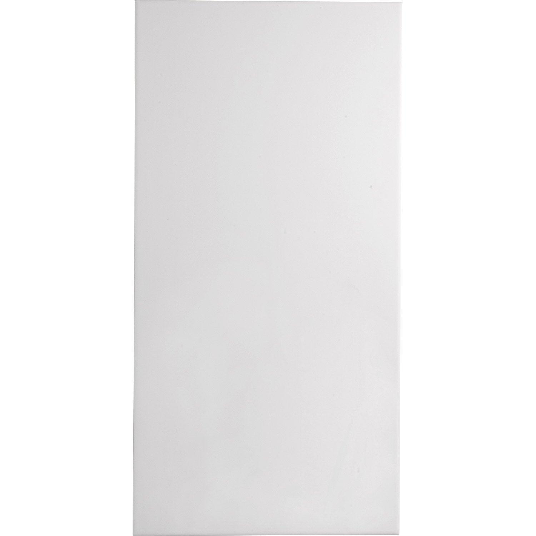 Carrelage mur blanc, Hawaï l.25 x L.50 cm