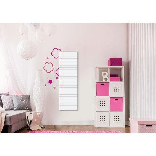 radiateur lectrique rayonnement decowatt cahier ecolier 500 w leroy merlin. Black Bedroom Furniture Sets. Home Design Ideas