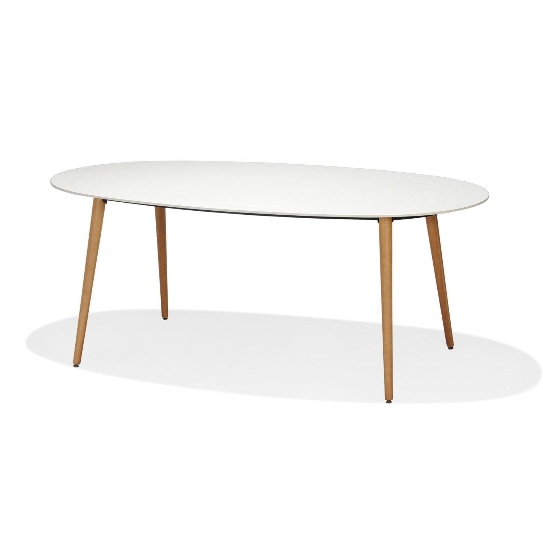Stunning Table De Jardin Metal Ovale Photos - Amazing House Design ...