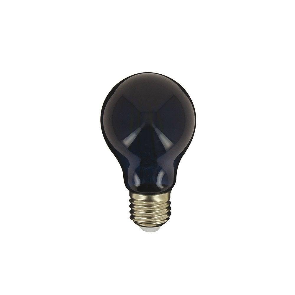 Ampoule Décorative Led à Filamentnoir Standard E27 40 W Noir, XANLITE