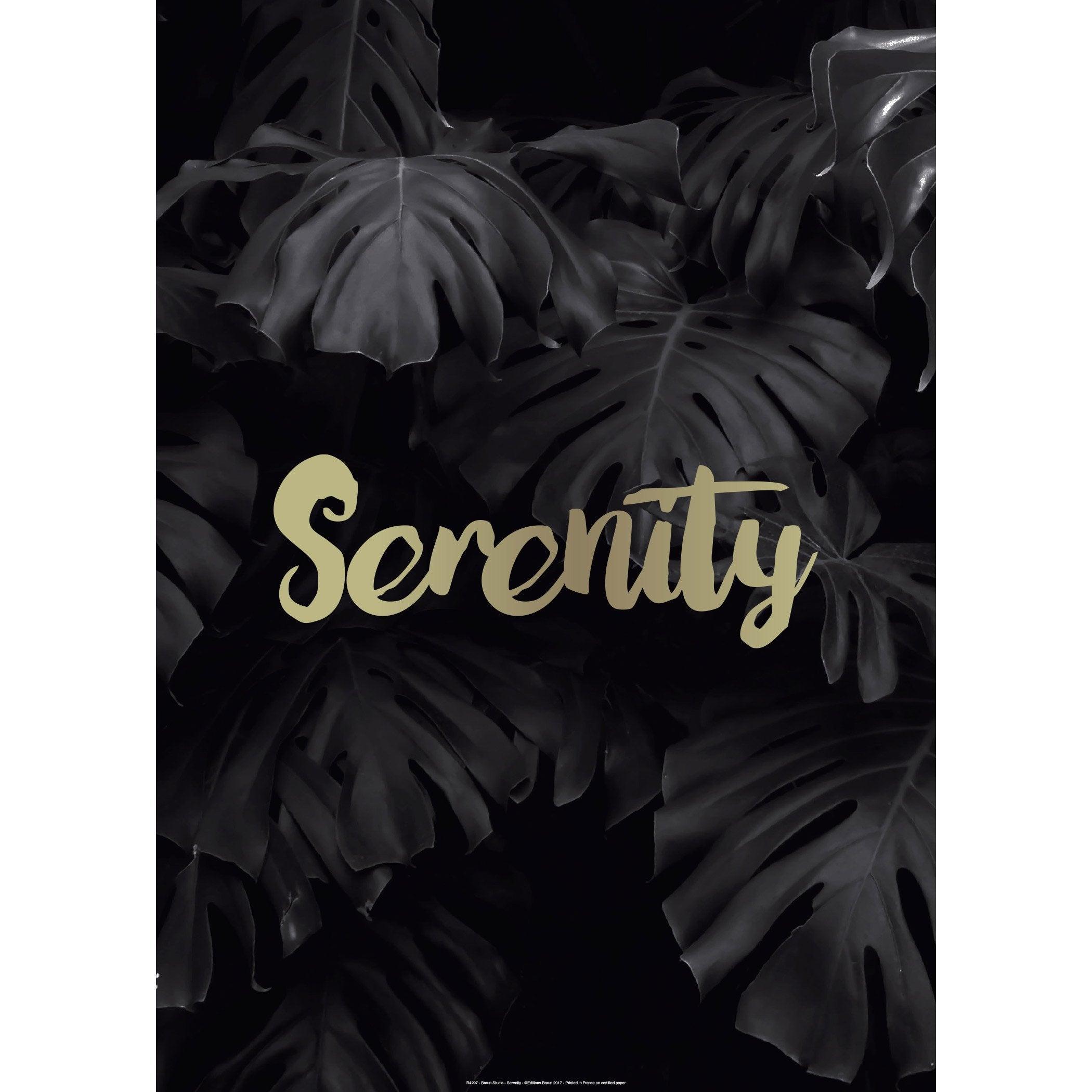 Affiche Serenity l.71 x H.51 cm