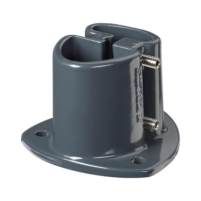 Platine Aluminium A Visser Platine Axor Grise Gris H75 Cm X Section 110x110 Mm