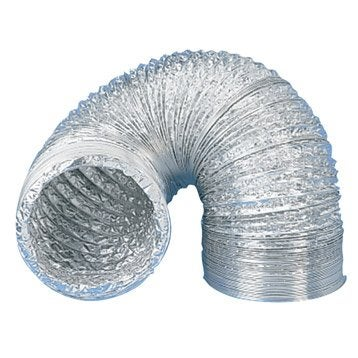 Conduit souple aluminium EQUATION, Diam.150/150 mm, L.3 m Csa150