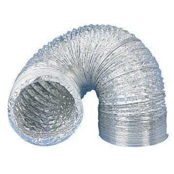 Conduit souple aluminium EQUATION, Diam.125/125 mm, L.3 m Csa125